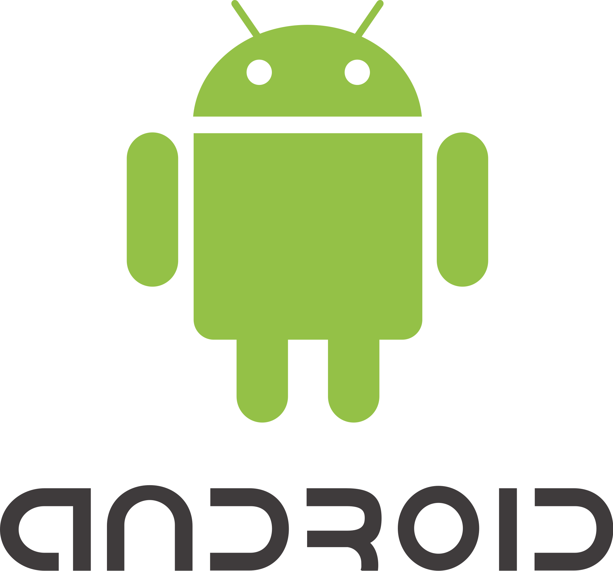 Logo platformy Android