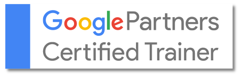 Logo: Google certified trainer